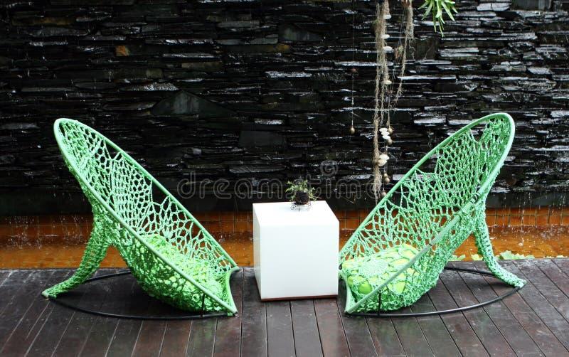 Moderne stoelen royalty-vrije stock fotografie
