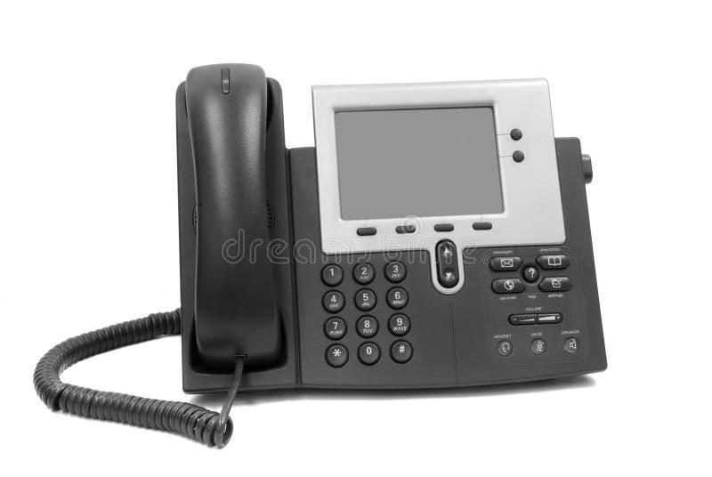 Moderne telefoon stock afbeelding