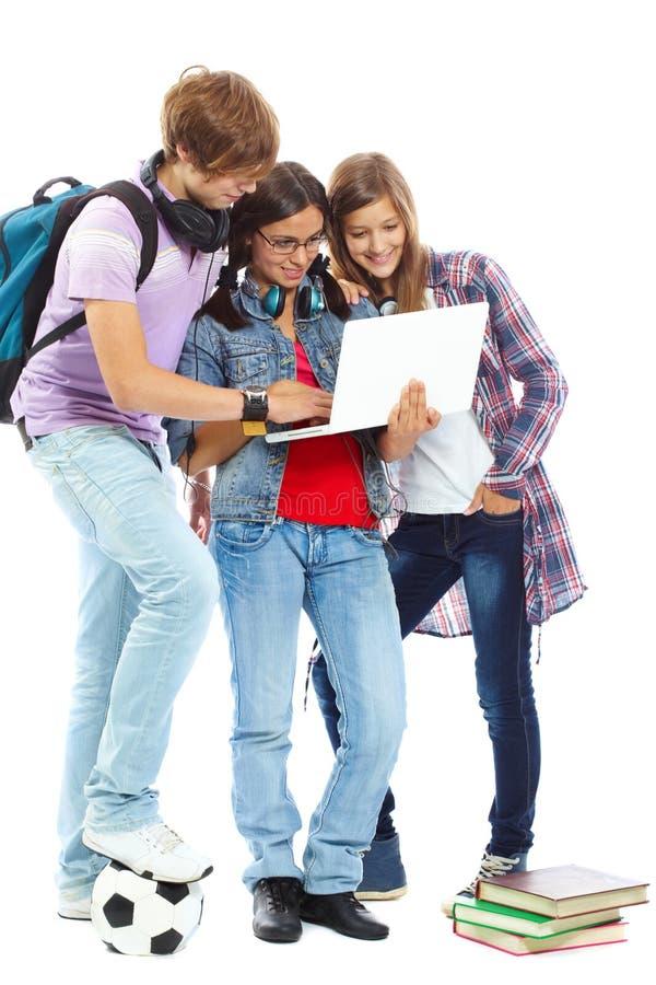 Moderne tienerjaren royalty-vrije stock afbeeldingen