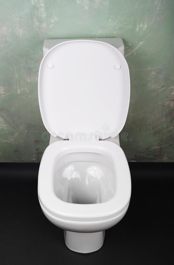 Moderne toiletkom stock fotografie