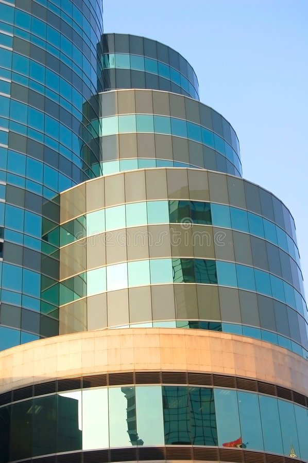 Moderne toren stock afbeelding
