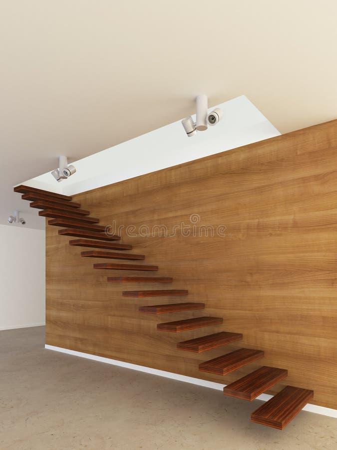Moderne Treppen lizenzfreie abbildung