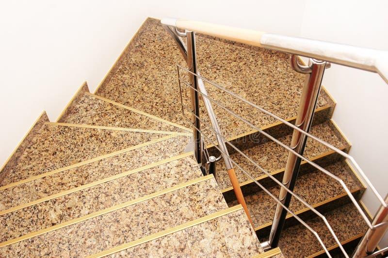 Moderne Treppen stockbilder
