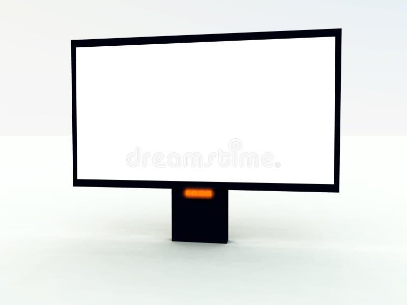 Moderne TV stock fotografie