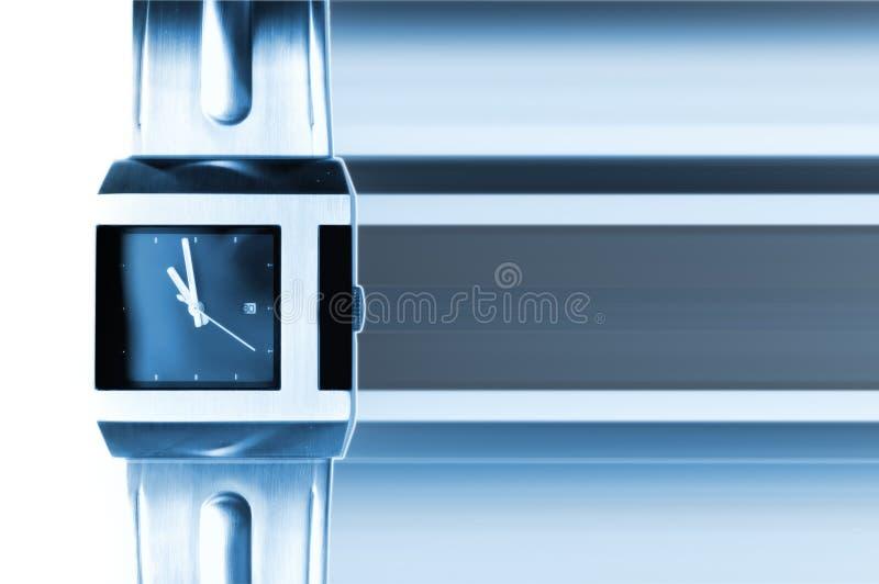 Moderne Uhr lizenzfreie stockfotos