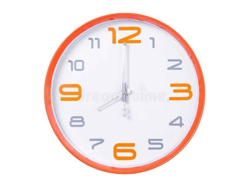 Moderne Uhr lizenzfreies stockbild