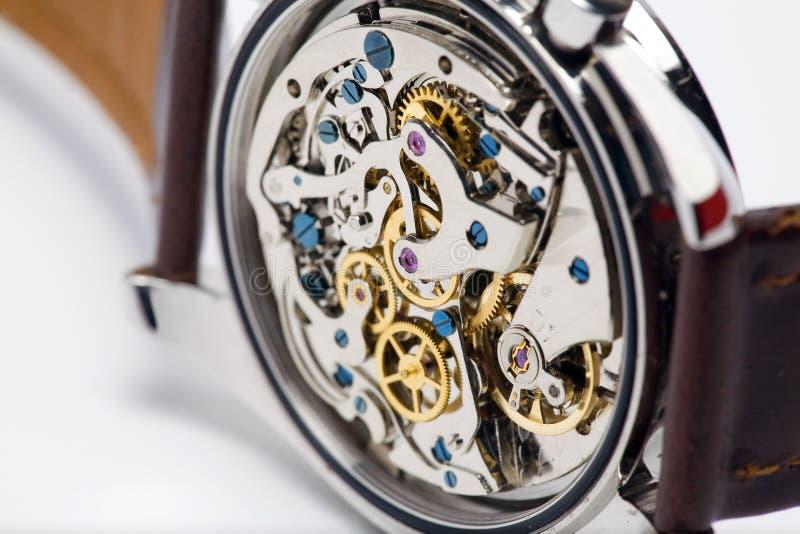 Moderne Uhr, Nahaufnahme stockbild