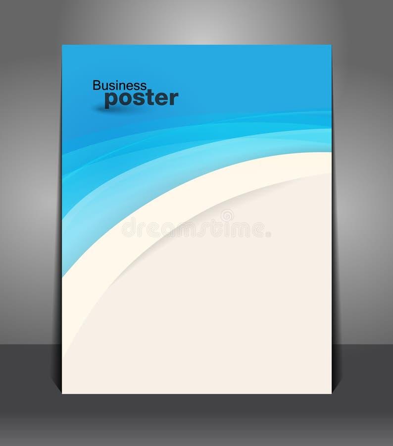 Moderne vector abstracte brochure royalty-vrije illustratie