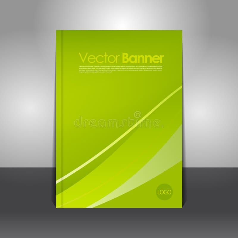 Moderne vector abstracte brochure vector illustratie