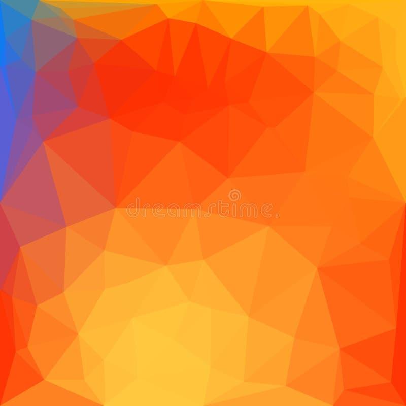 Moderne veelhoekige stijl heldere achtergrond Vector vector illustratie