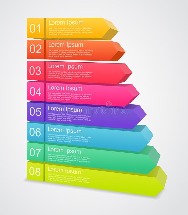 Moderne Vektorschablone für Ihr Geschäftsprojekt stock abbildung