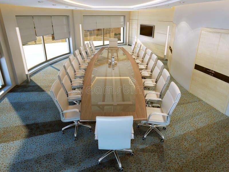 Moderne vergaderingsruimte royalty-vrije stock afbeeldingen
