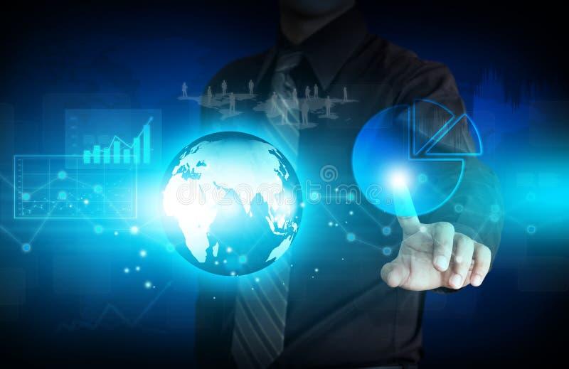 Moderne virtuelle Technologie stockfoto