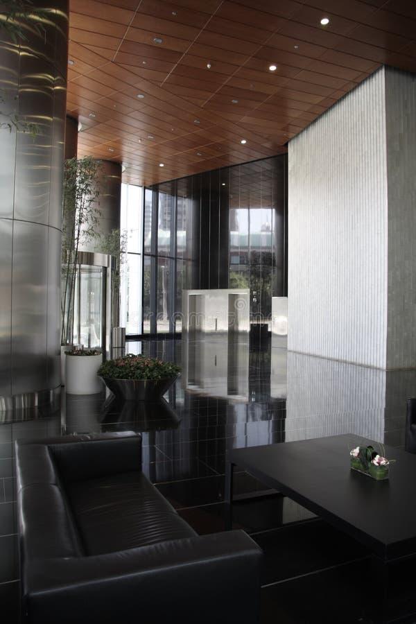Moderne Vorhalle stockfotos