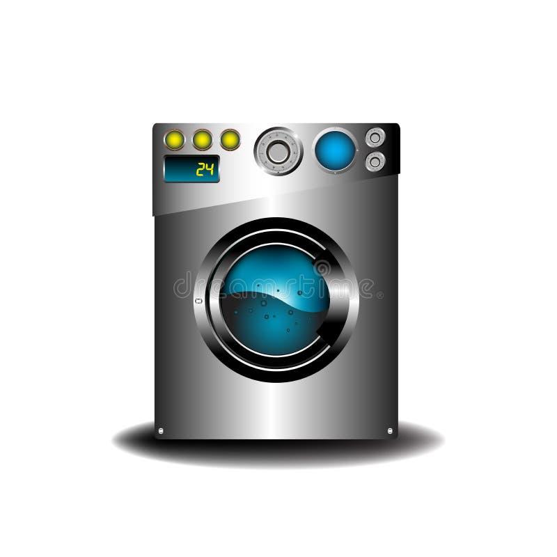 moderne waschmaschine stockfoto - bild: 11639030, Attraktive mobel