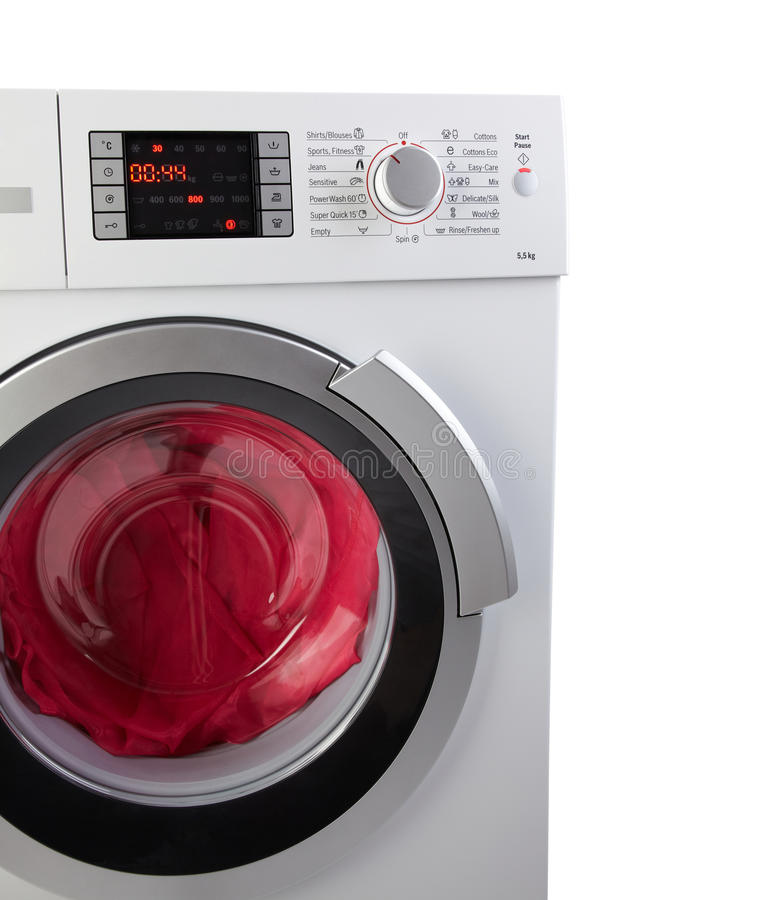 moderne waschmaschine stockfoto - bild: 18678030, Attraktive mobel