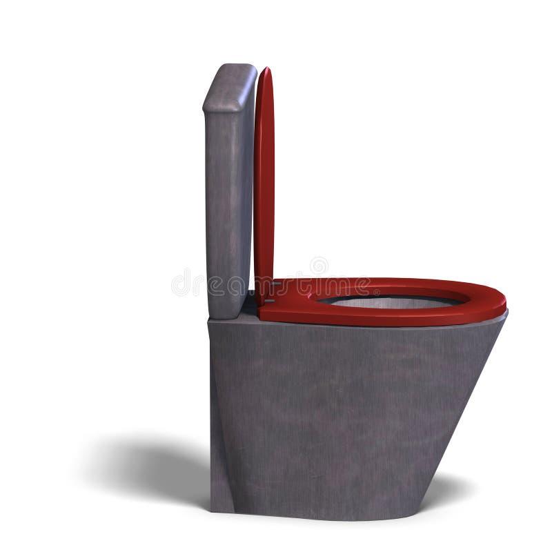 Moderne WC stock illustratie
