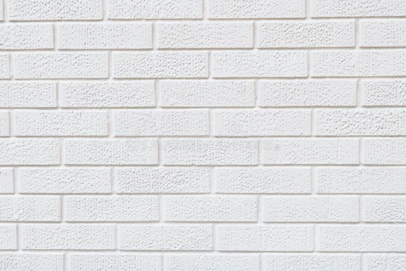 Moderne weiße Backsteinmauerbeschaffenheit für Hintergrund lizenzfreie stockbilder
