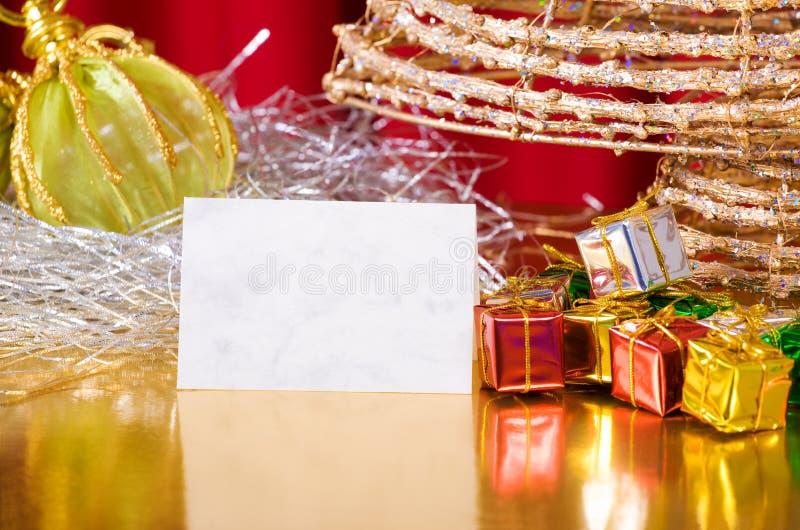 Moderne Weihnachtsfelder stockfoto