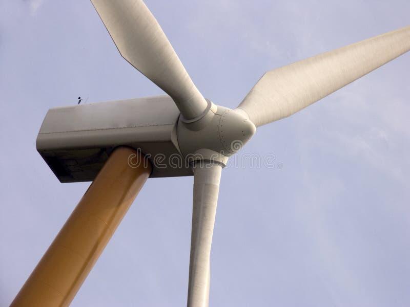 Moderne windmolen 1 royalty-vrije stock foto