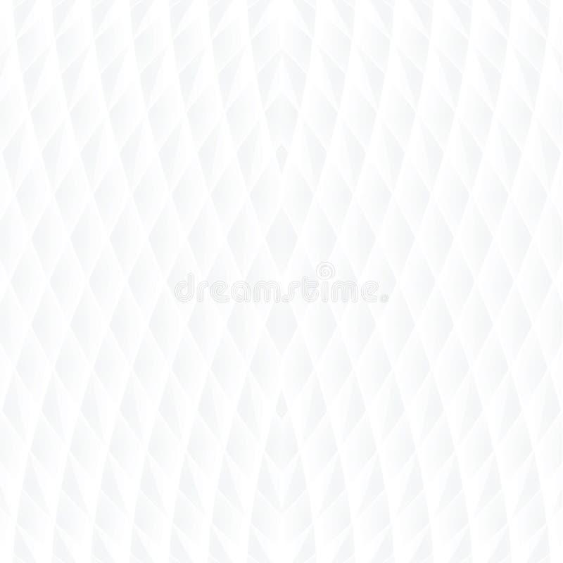 Moderne witte naadloze achtergrond -  royalty-vrije illustratie