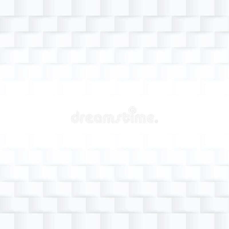 Moderne witte naadloze achtergrond -/kan voor grafisch worden gebruikt vector illustratie
