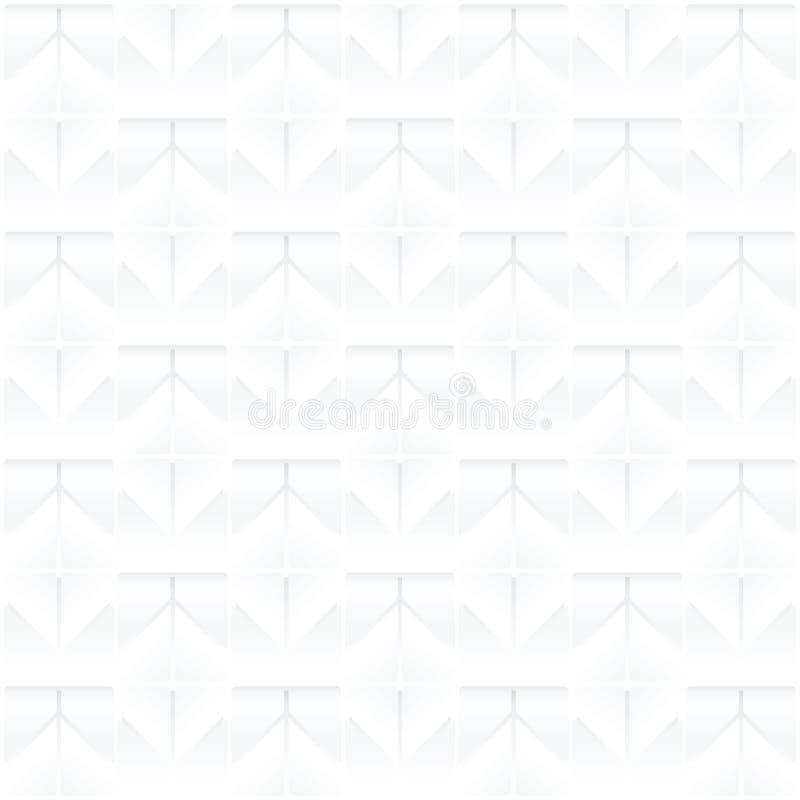 Moderne witte naadloze achtergrond -/kan voor grafisch worden gebruikt royalty-vrije illustratie