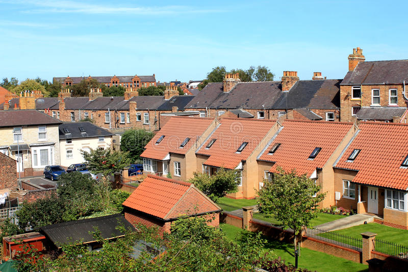 Moderne Wohnsiedlung in Scarborough stockfoto