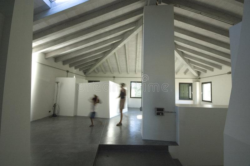 Moderne Wohnung stockfotos