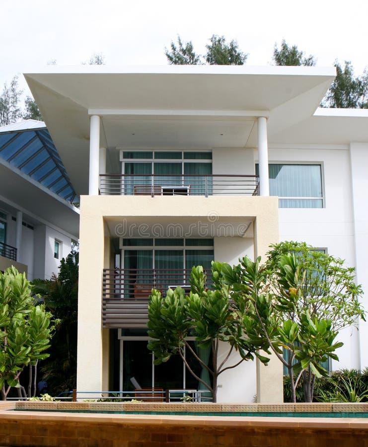 Moderne Wohnungen. stockbild