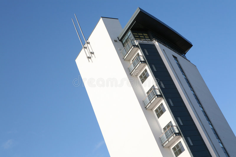 Moderne Wohnungen stockfotografie