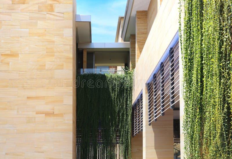 Moderne Wohnungen der modernen Wohnungen lizenzfreie stockfotografie