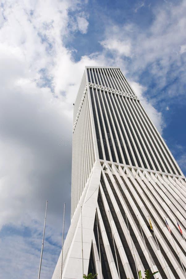 Moderne wolkenkrabber royalty-vrije stock foto's