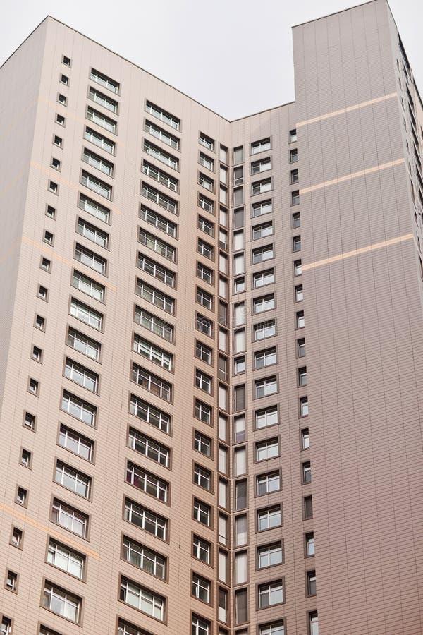 Moderne woon complex in Astana kazachstan stock fotografie