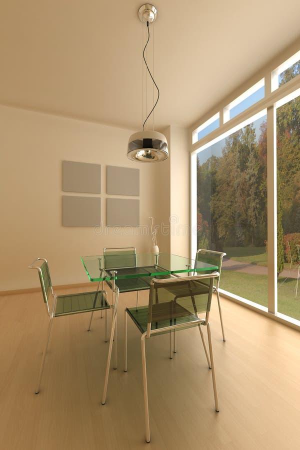 Download Moderne woonkamer stock illustratie. Illustratie bestaande uit living - 10775007