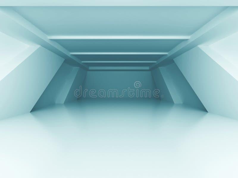 Moderner Architektur-Design-Raum-Innenraum-Hintergrund vektor abbildung