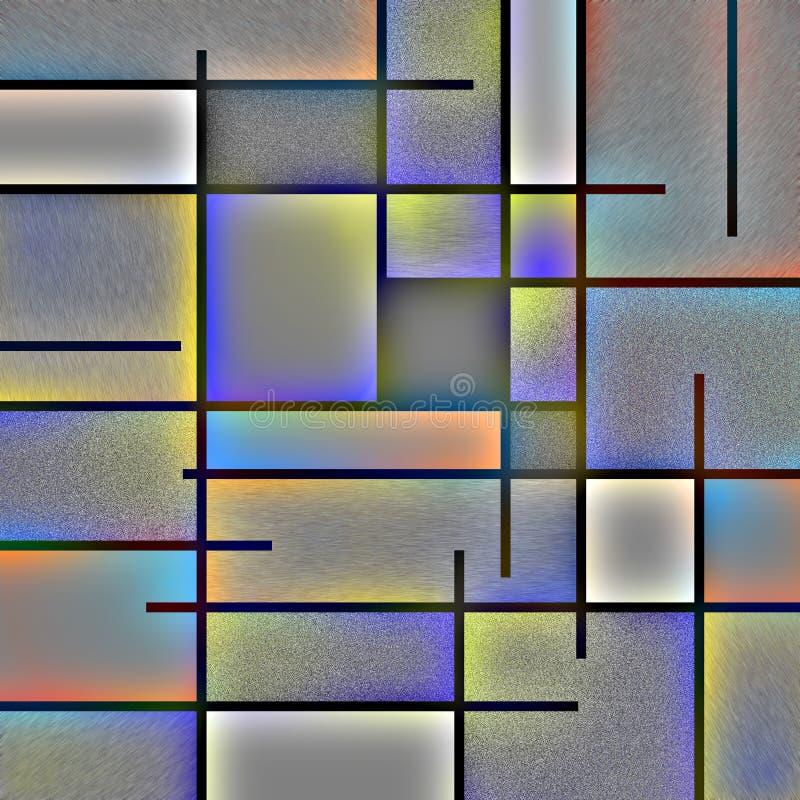 Moderner Art Abstract vektor abbildung