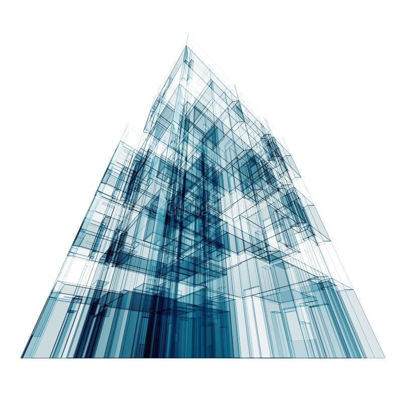 Moderner Aufbau vektor abbildung