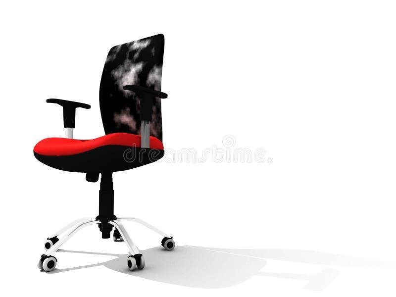 Moderner Bürostuhl lizenzfreie abbildung