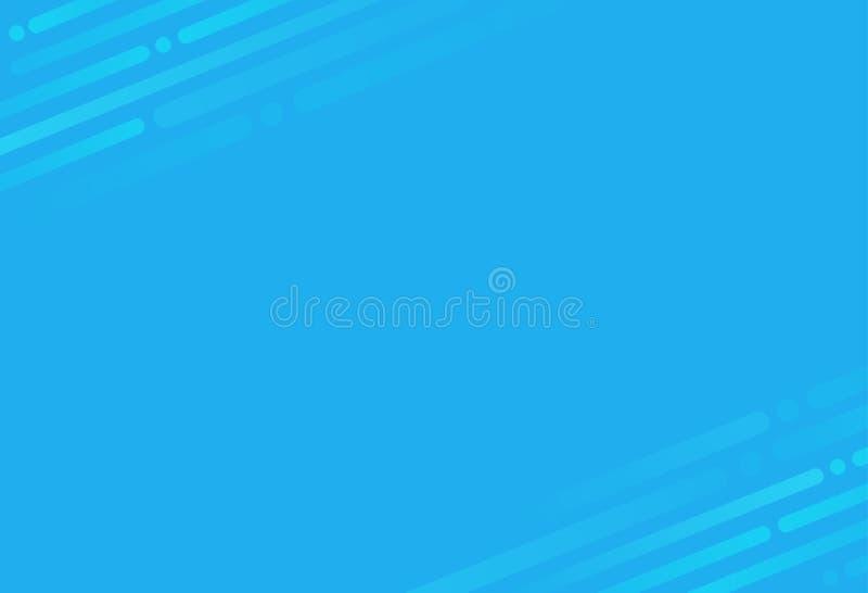 Moderner blauer abstrakter Technologiehintergrund lizenzfreie stockfotos