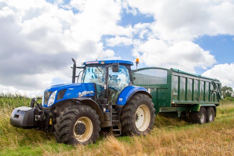 Blauer Traktor Marke