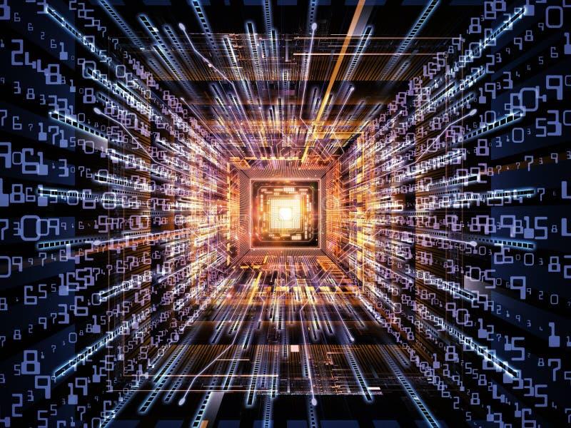 Moderner Computer stock abbildung