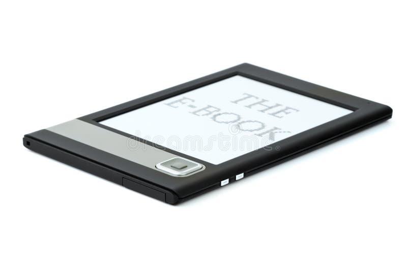 Moderner ebook Leser lizenzfreies stockfoto