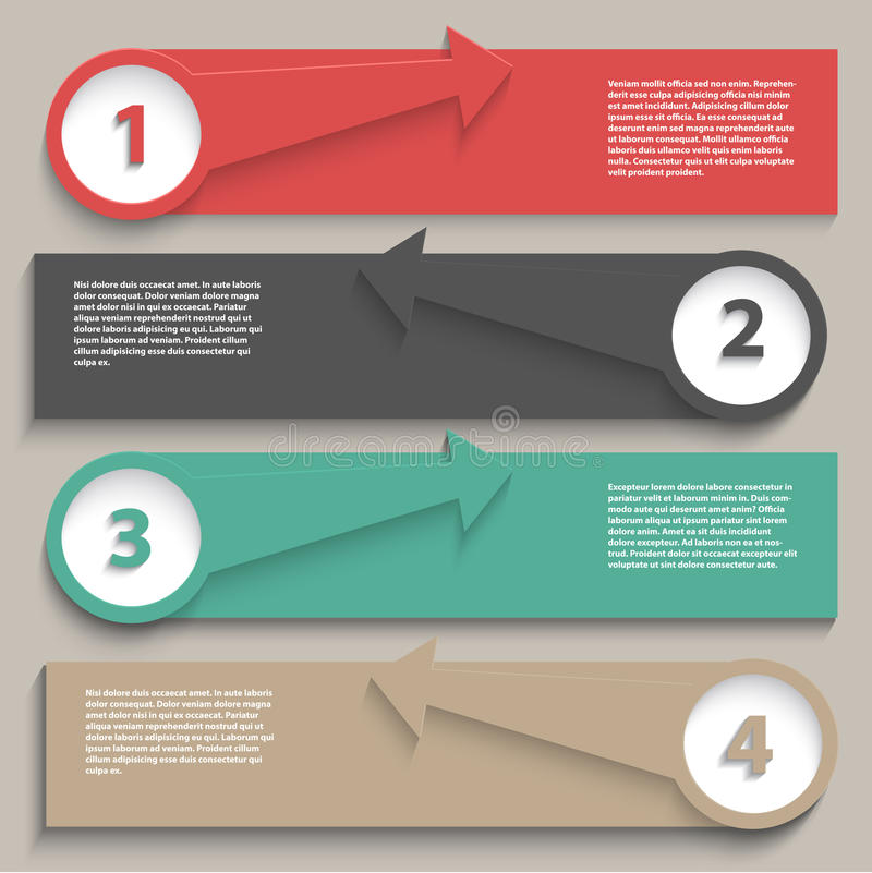 Infographics Plan vektor abbildung