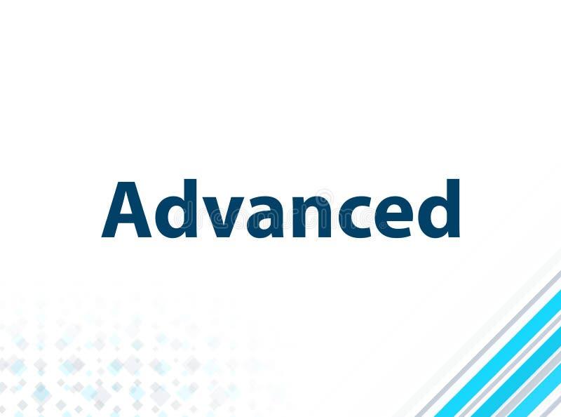 Moderner moderner flacher Entwurfs-blauer abstrakter Hintergrund vektor abbildung