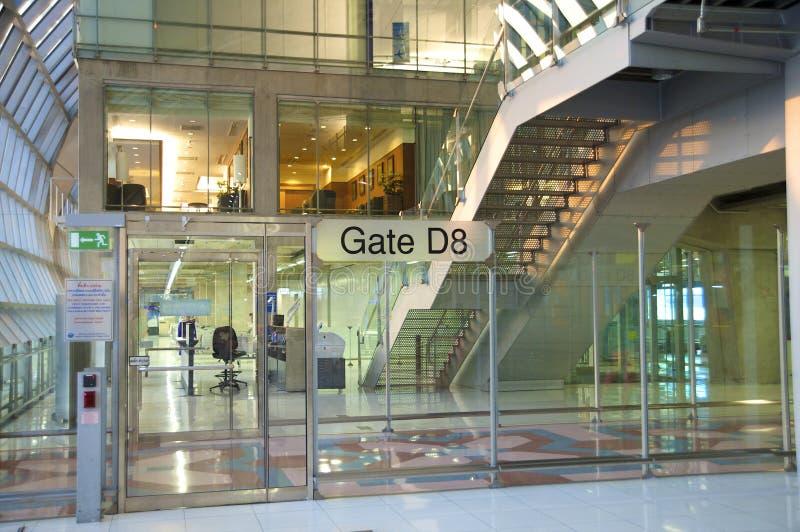 Moderner Flughafen lizenzfreies stockbild