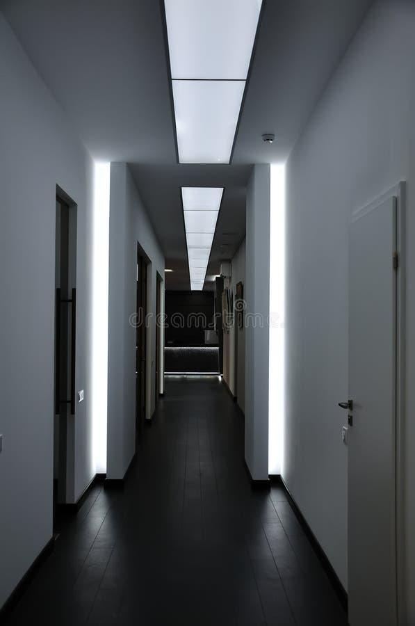 moderner flur stockbild bild von b ros gesch fte h user 22722283. Black Bedroom Furniture Sets. Home Design Ideas