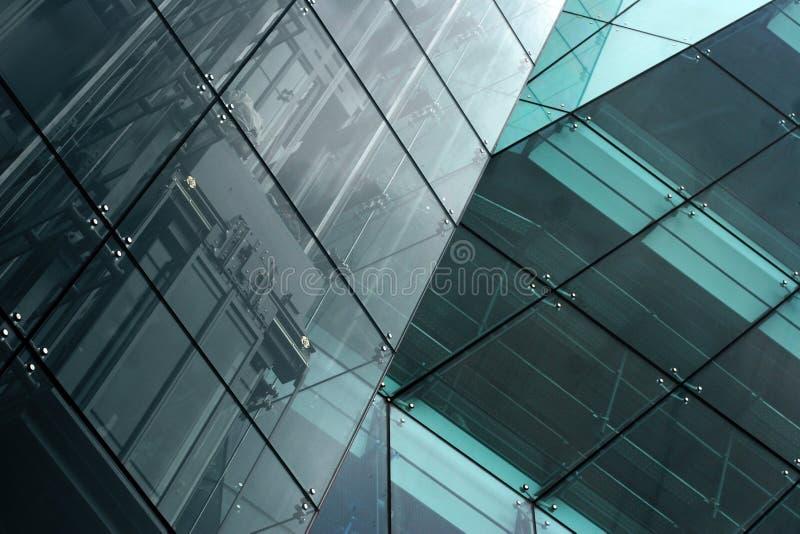 Moderner Gebäudeauszug stockbilder