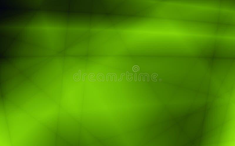 Moderner grüner Hintergrund des grünen abstrakten Blattes lizenzfreie abbildung