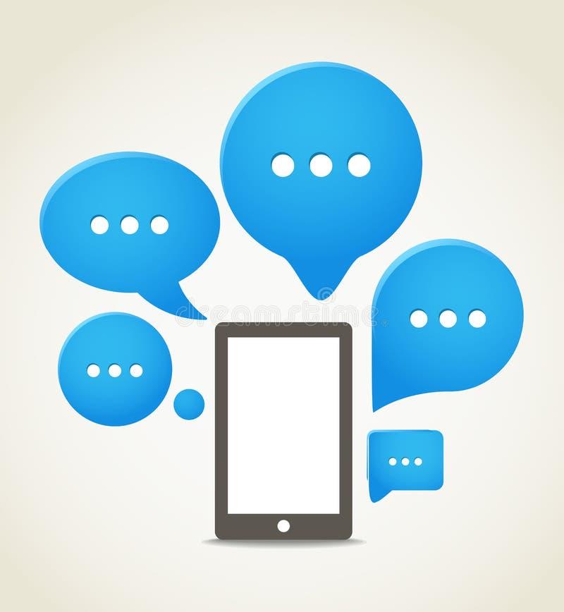 Download Moderner Handy vektor abbildung. Illustration von gerät - 27733536